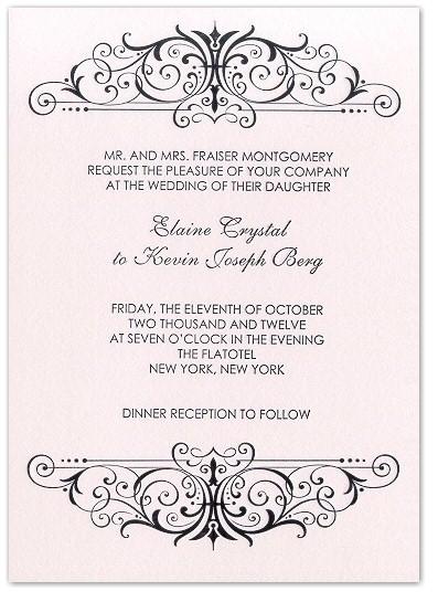 Win-25-letterpress-wedding-invitations-pink-black-modern-classy-scroll-pattern.full