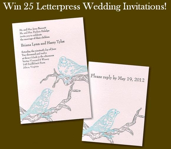 Win-25-letterpress-wedding-invitations-pink-black-modern-design-bird-nature-motif-save-win-weekly-giveaway-final.full
