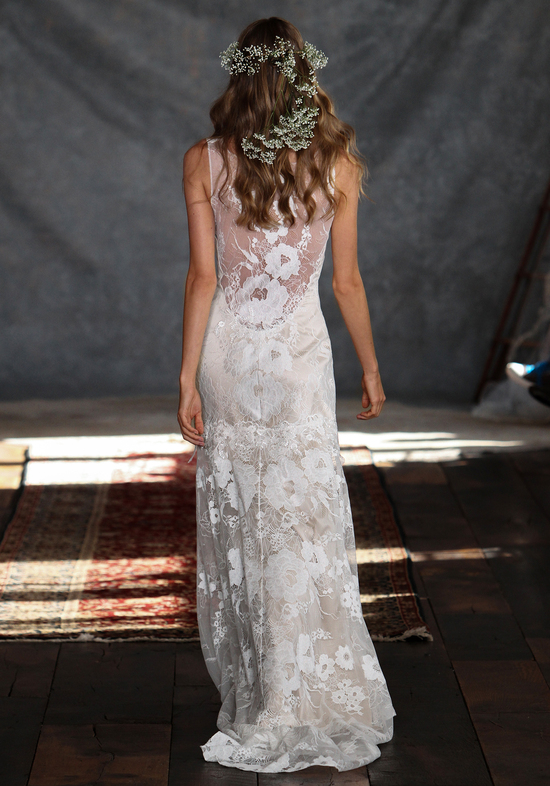 Gardenia Wedding Dress Back from Claire Pettibone s Romantique Collection