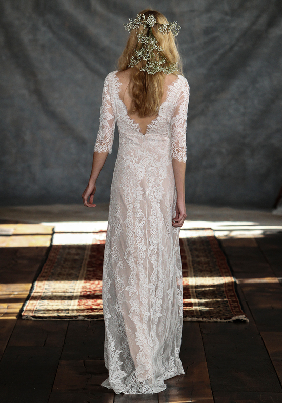 Patchouli Wedding Dress Back from Claire Pettibone s Romantique Collection