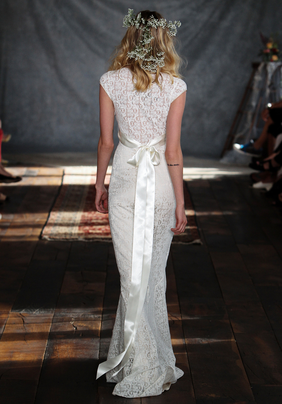Yolanda Wedding Dress Back from Claire Pettibone s Romantique Collection