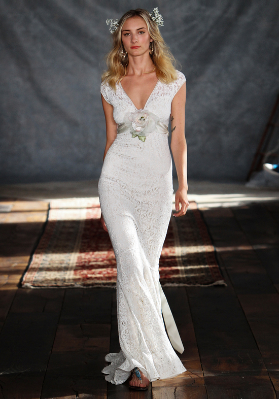 Yolanda Wedding Dress from Claire Pettibone s Romantique Collection