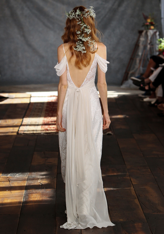 Clementine Wedding Dress Back from Claire Pettibone s Romantique Collection