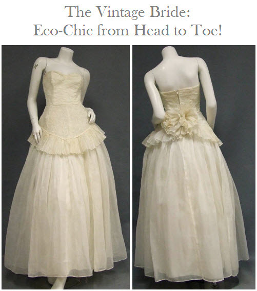 photo of The Vintage Bride, Head to Toe by Recycled Bride