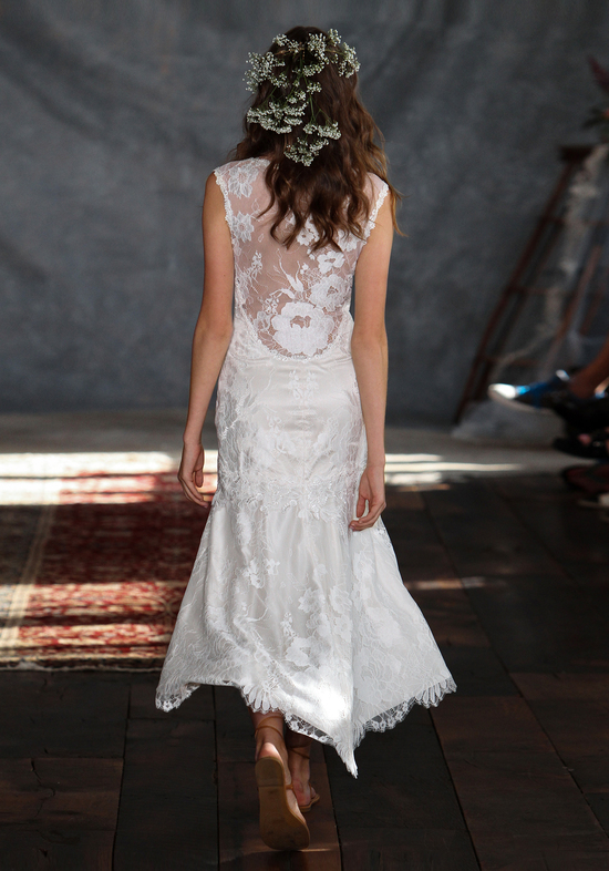 Amour Wedding Dress Back from Claire Pettibone s Romantique Collection
