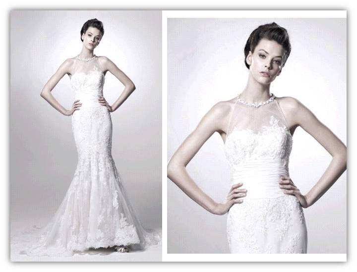 Francesca-spring-2011-romantic-wedding-dress-delicate-lace-mermaid-illusion-jeweled-high-neckline-2.full