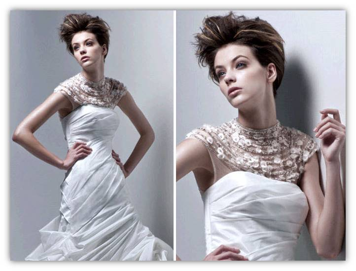 Finnia-cap-sleeve-illusion-neckline-jewel-organza-flower-details-spring-2011-wedding-dress-details-2011-trends-2.full