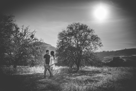 Romantic Orchard ENgagement