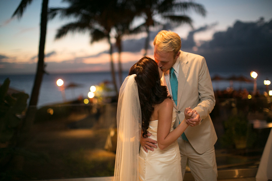 photo of Heavenly Hawaiian Real Wedding