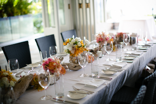 Hawaiin Table Setting