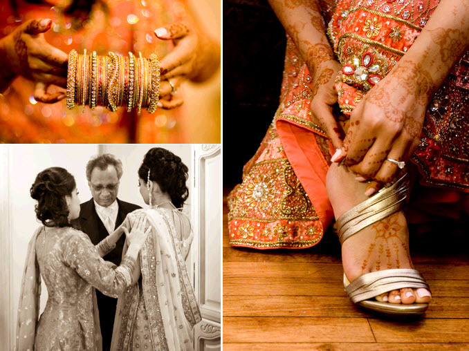 Indian-bride-wearing-gold-red-wedding-day-sari-gets-ready-to-say-i-do.full