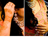 Stunning-indian-bride-with-henna-red-gold-sari-gets-ready-for-wedding-ceremony.square