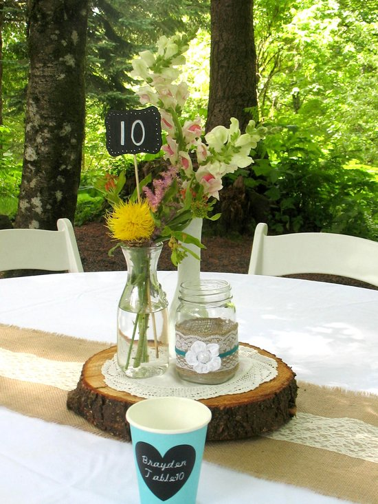 wildflower centerpiece