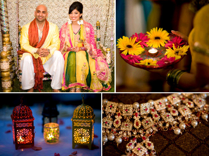 Traditional-indian-wedding-vibrant-rich-details-lanterns-red-gold-bridal-necklace.full