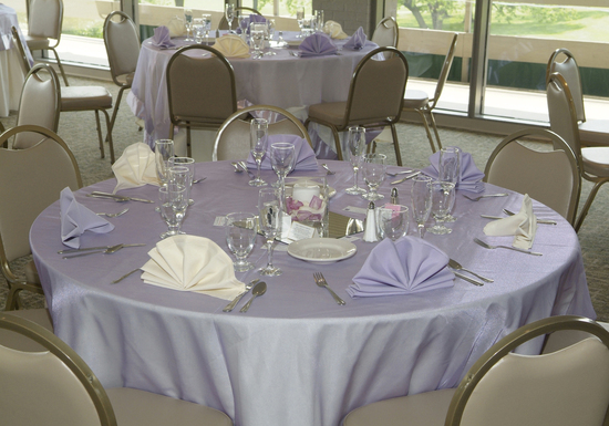Lavendar wedding and reception