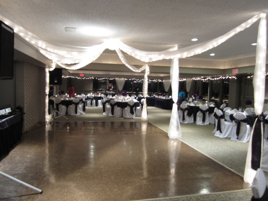 New Years Eve wedding reception