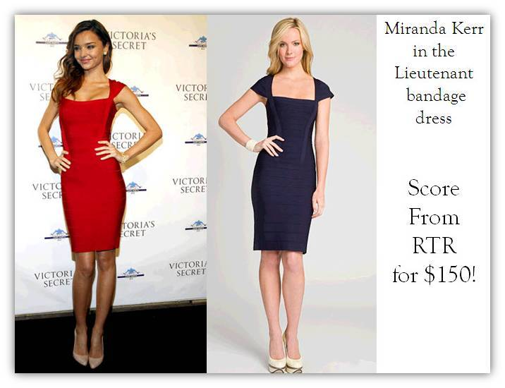 Miranda Kerr dons curve-hugging red Herve Leger dress to premier, and you could too!