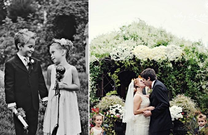 Adorable-flower-girl-ring-bearer-watch-as-couple-says-i-do.full