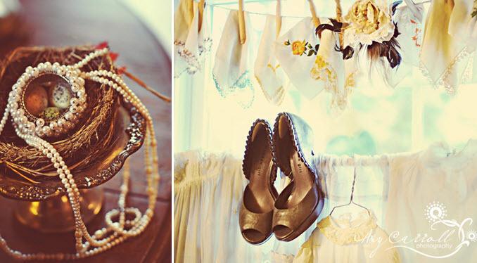 Vintage-antique-wedding-jewelry-pearls-brown-peep-toe-bridal-heels.full