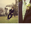Vintage-artistic-quirky-groom-jumps-with-parasol-unique-floral-boutinierre.square