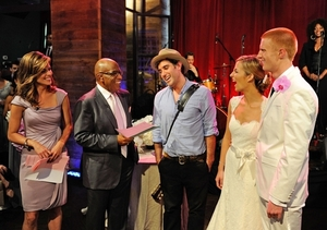 photo of Today Show Wedding, 2010: Melissa McMillan and Jeremy Gilbert