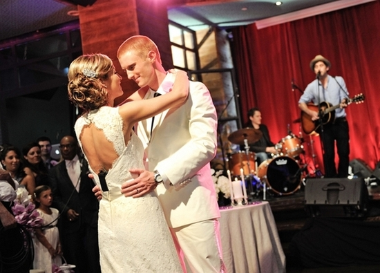Today Show wedding couple share first dance at wedding reception