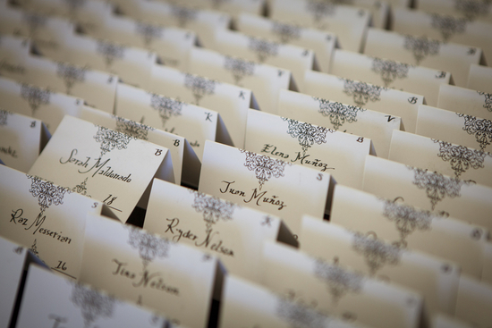 Delicate Name Cards