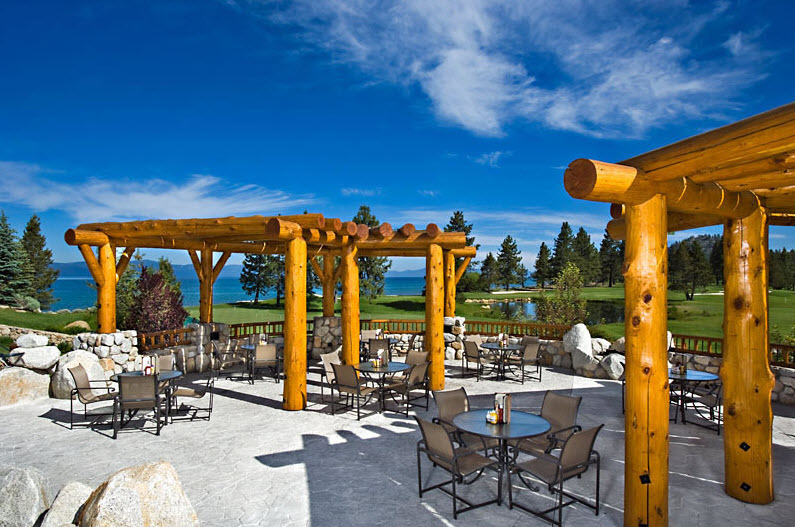 Destination Wedding Venue In Lake Tahoe With Gorgeous Outdoor Patio