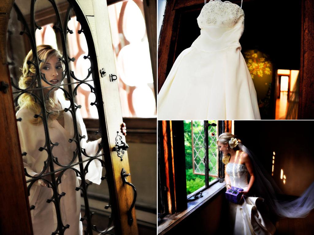 Maryland-fairytale-wedding-ivory-strapless-wedding-dress-purple-tulle-flower-in-wedding-hairstyle.full