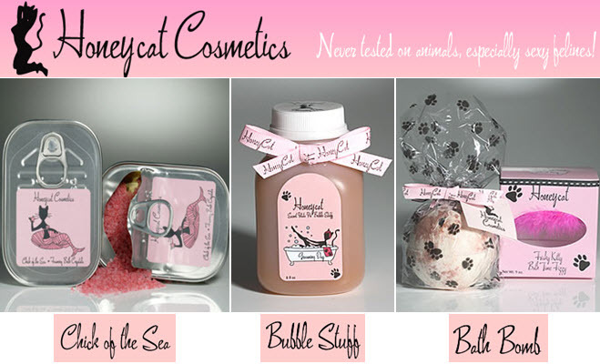 Deliciously delectable Honeycat bath products