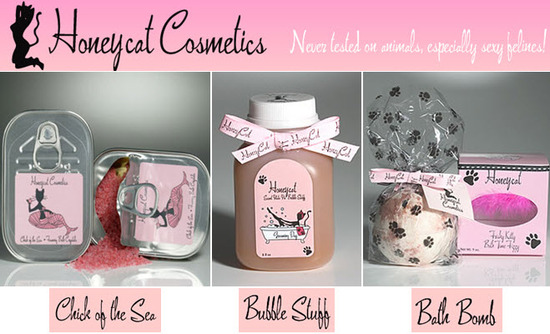 photo of Deliciously delectable Honeycat bath products