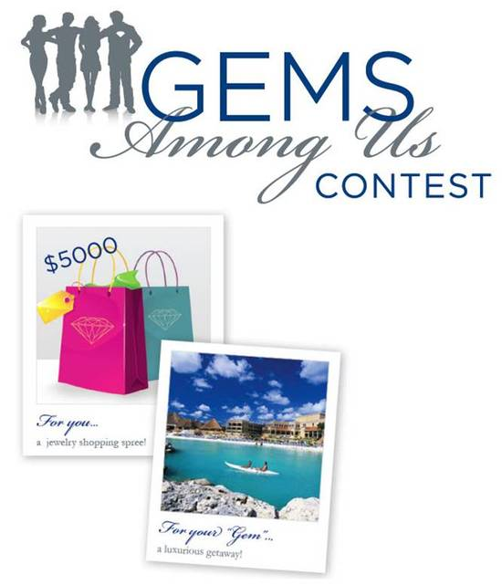 Enter to win a $5000 jewelry shopping spree & all-inclusive getaway