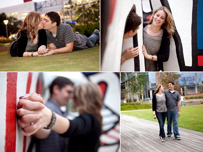 Houston-casual-engagement-session-park-vibrant-backdrops.full