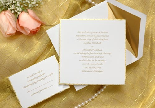 La Donna Weddings Invitations by Birchcraft Studios
