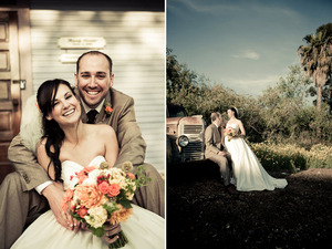 photo of Orange County, CA Shabby Chic Wedding: Aubrie and Aaron