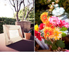 Outdoor-wedding-reception-rustic-escort-card-table-wish-tree-bright-gerbera-daisies.square
