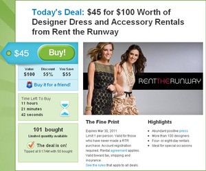 Designer Dress Rental on Designer Dresses And Accessories  Onewed Partners With Rent The Runway