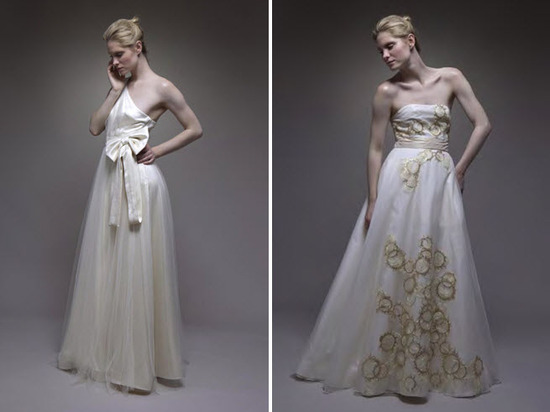 photo of Spring 2011 Wedding Dresses: Ultra-Feminine, Romantic Bridal Style
