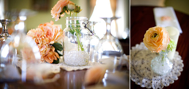 Outdoor-country-kentucky-wedding-plantation-venue-wedding-reception-decor-details-peach-flowers-centerpieces.full