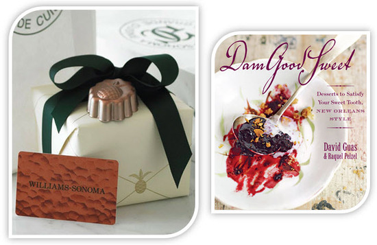 photo of Two Great Giveaways: $200 Williams-Sonoma Gift Card and Dam Good Sweet Cookbook!