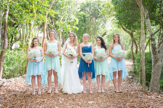 Beachy Bridal Party