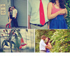 Outdoor-vintage-chic-engagement-session-red-white-blue-stripes.square