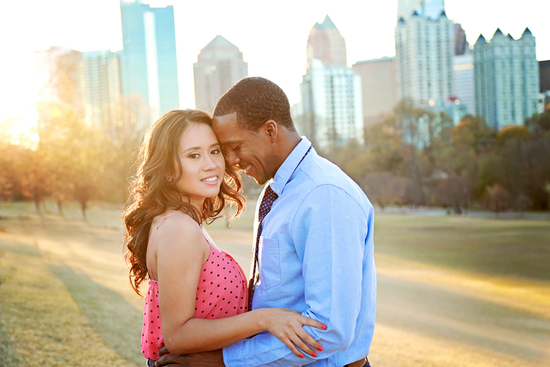 Downtown Atlanta Engagement Session