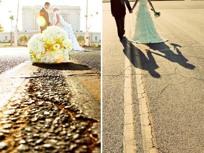 Summer-outdoor-az-wedding-white-wedding-dress-high-neck-ruffled-tiers.full