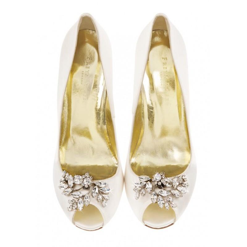Stunning Wedding Shoe Inspiration from Freya Rose photo