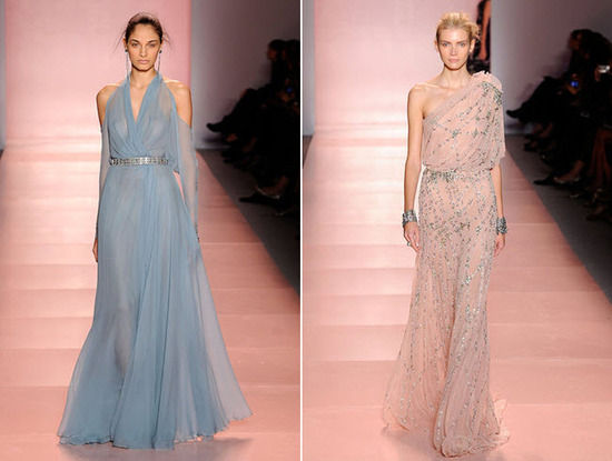 Light ethereal high-fashion gowns from Jenny Packham