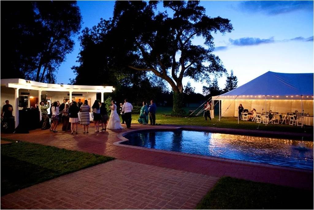 Beautiful outdoor wedding venue in galt ca grace vineyards junglespirit Images