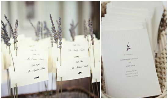 Lavender Inspired Stationery
