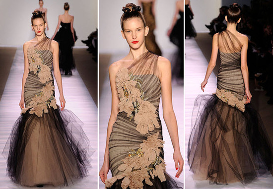 photo of Stunning Silhouettes from New York Fashion Week, 2010: Monique Lhuillier