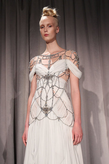photo of Bride Chic: Stalking the Look Books, Marchesa Spring 2011